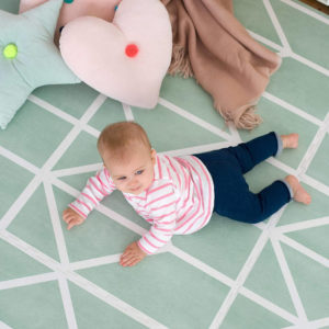 Speelmat Nordic Neo Matcha van Toddlekind - My Little Carpet