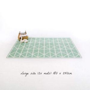 Speelmat Nordic Neo Matcha van Toddlekind - My Little Carpet
