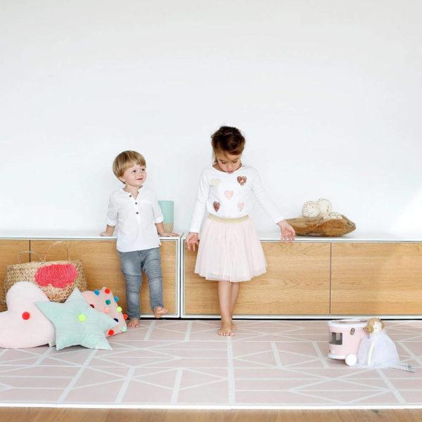 Speelmat Nordic Vintage Nude van Toddlekind - My Little Carpet