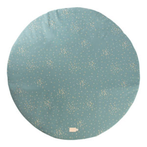Speelkleed Full Moon - Gold Confetti Magic Green van Nobodinoz - My Little Carpet