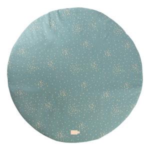 Speelkleed Full Moon - Gold Confetti Magic Green van Nobodinoz - My Little Carpet