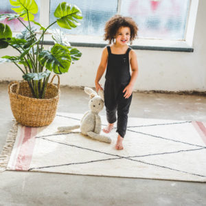 Vloerkleed Etnic Pink van Tapis Petit - My Little Carpet