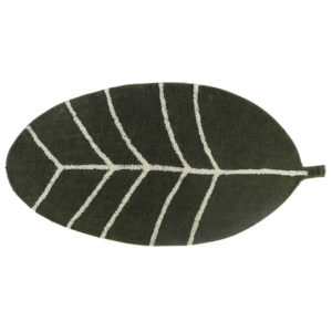 Vloerkleed Leaf-Blad van Tapis Petit - My Little Carpet