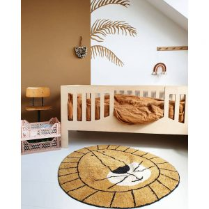 Vloerkleed Lion van Tapis Petit - My Little Carpet