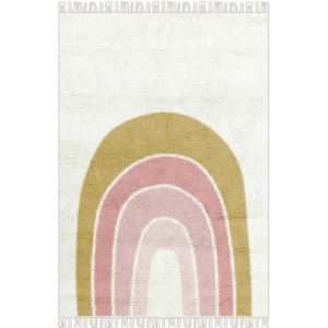 Vloerkleed Rainbow-Regenboog van Tapis Petit - My Little Carpet