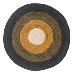 Vloerkleed Round Ocher van Tapis Petit - My Little Carpet