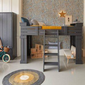 Vloerkleed Round Ocher van Tapis Petit - My Little Carpet
