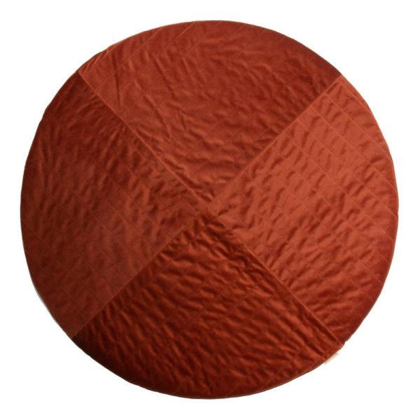 Speelkleed Kilimanjaro Velvet Wild Brown van Nobodinoz - My Little Carpet