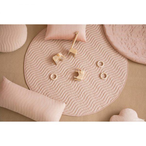 Speelkleed Kiowa Bloom Pink van Nobodinoz - My Little Carpet