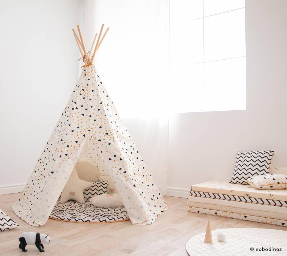 Nobodinoz Speelkleed Kiowa New Natural O105 Cm My Little Carpet