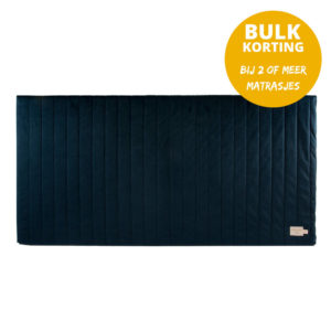 Speelmatras Zanzibar Velvet - Night Blue van Nobodinoz - My Little Carpet