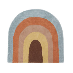 Vloerkleed Rainbow-Regenboog van OYOY Mini - My Little Carpet