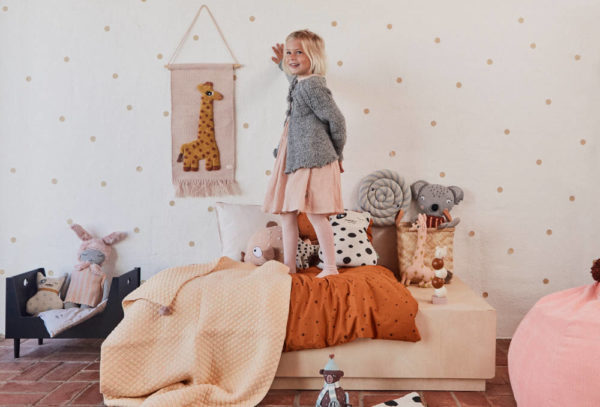 Wandhanger Wandkleed Giraf van OYOY mini - My Little Carpet