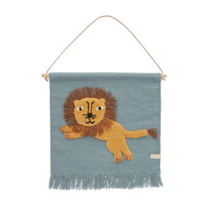 Wandhanger Wandkleed Leeuw van OYOY mini - My Little Carpet