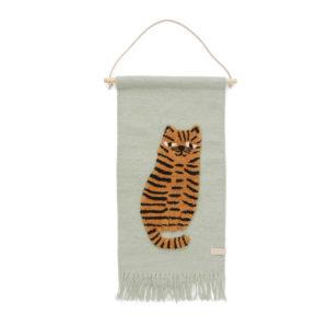 Wandhanger Wandkleed Tijger van OYOY mini - My Little Carpet