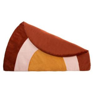 Speelkleed Rainbow Velvet Wild Brown van Nobodinoz – My Little Carpet