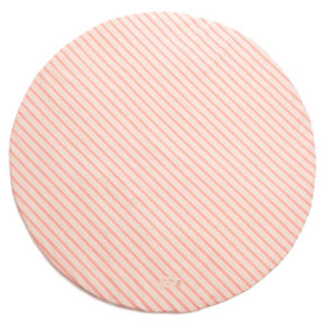 Speelkleed Full Moon Candy Pink Stripes van Nobodinoz - My Little Carpet
