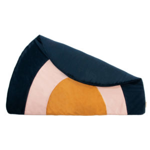 Speelkleed Rainbow Velvet Night Blue van Nobodinoz – My Little Carpet
