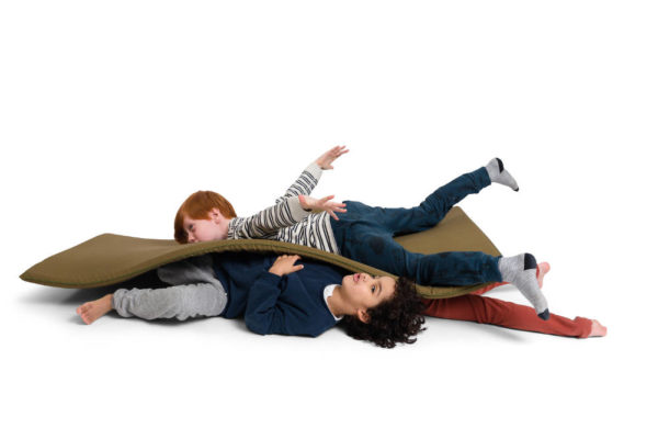 Playmat Lazy Crocodile van ByAlex - My Little Carpet