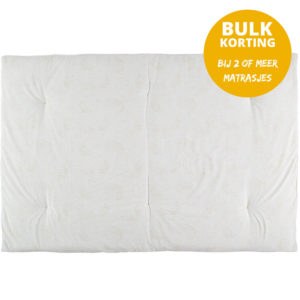 Speelmatras Eden Futon Gold Bubble White van Nobodinoz - My Little Carpet