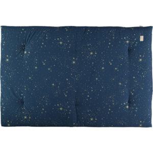 Speelmatras Eden Futon Gold Stella Night Blue van Nobodinoz - My Little Carpet