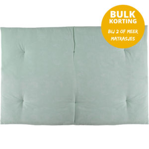 Speelmatras Eden Futon White Bubble Aqua van Nobodinoz - My Little Carpet