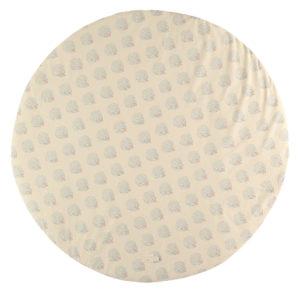 Speelkleed Full Moon, Blue Gatsby Cream van Nobodinoz - My Little Carpet
