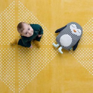 Speelmat Mustard, Earth Series van Toddlekind - My Little Carpet