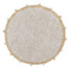 Vloerkleed Bubbly Natural Honey van Lorena Canals - My Little Carpet