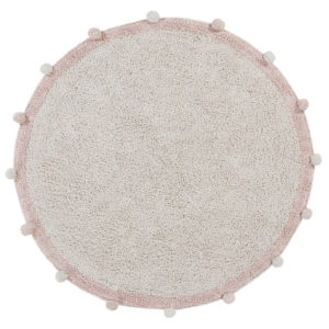 Vloerkleed Bubbly Natural Vintage Nude van Lorena Canals - My Little Carpet