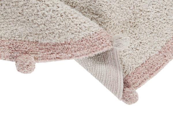Vloerkleed Bubbly Natural Vintage Nude van Lorena Canals - My Little Carpet