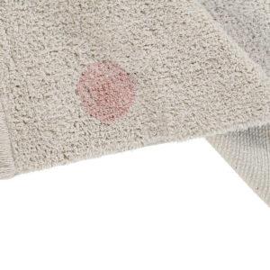 Vloerkleed Hippy Dots Natural Vintage Nude van Lorena Canals - My Little Carpet