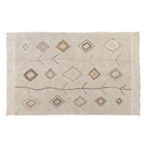 Vloerkleed Kaarol Earth van Lorena Canals - My Little Carpet