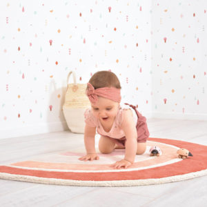 Vloerkleed Orange Rainbow, Regenboog H0584 van Lilipinso - My Little Carpet