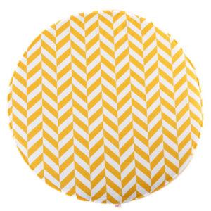 Speelkleed Herringbone, Mustard van Wigiwama - My Little Carpet
