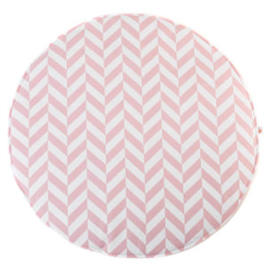 Speelkleed Herringbone, Pink van Wigiwama - My Little Carpet