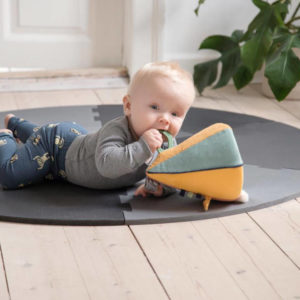 Speelmat Puzzel Pigeon Grey van Sebra - My Little Carpet