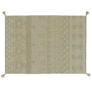 Vloerkleed Tribu Olive van Lorena Canals - My Little Carpet