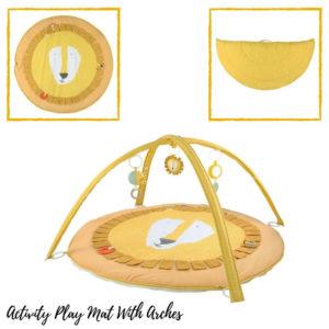 Activiteiten Speelmat Met Babygym, Mr. Lion van Trixie Baby - My Little Carpet