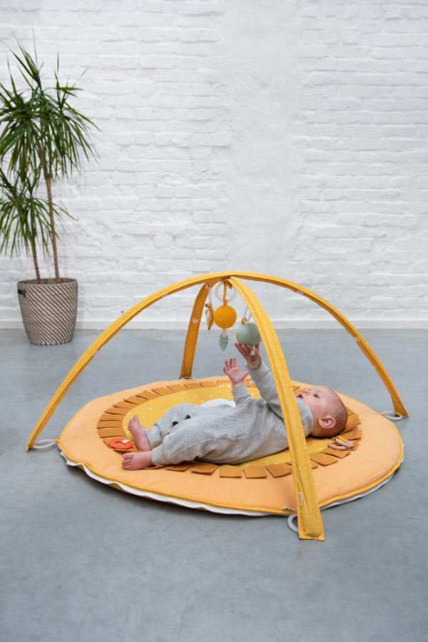 Activiteiten Speelmat Met Babygym, Mr. Lion van Trixie Baby - My Little Carpet