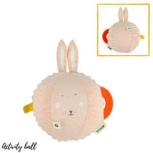 Activiteiten bal, Mrs. Rabbit van Trixie Baby - My Little Carpet