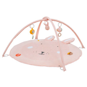 Activiteiten Speelmat Met Babygym, Mrs. Rabbit van Trixie Baby - My Little Carpet