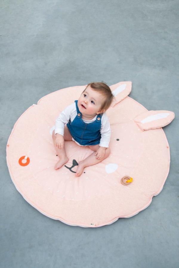Activiteiten Speelmat Met Babygym, Mrs. Rabbit van Trixie Baby - My Little Carpet