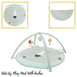 Activiteiten Speelmat Met Babygym, Mr. Polar Bear van Trixie Baby - My Little Carpet