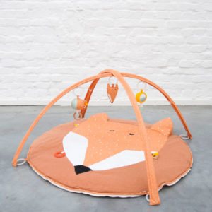 Activiteiten Speelmat Met Babygym, Mr. Fox Bear van Trixie Baby - My Little Carpet