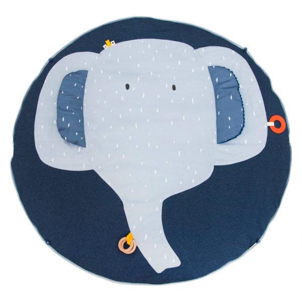 Activiteiten Speelmat Met Babygym, Mrs. Elephant van Trixie Baby - My Little Carpet