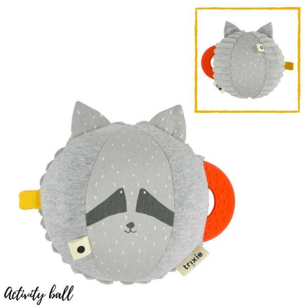 Activiteiten bal, Mr. Raccoon van Trixie Baby - My Little Carpet