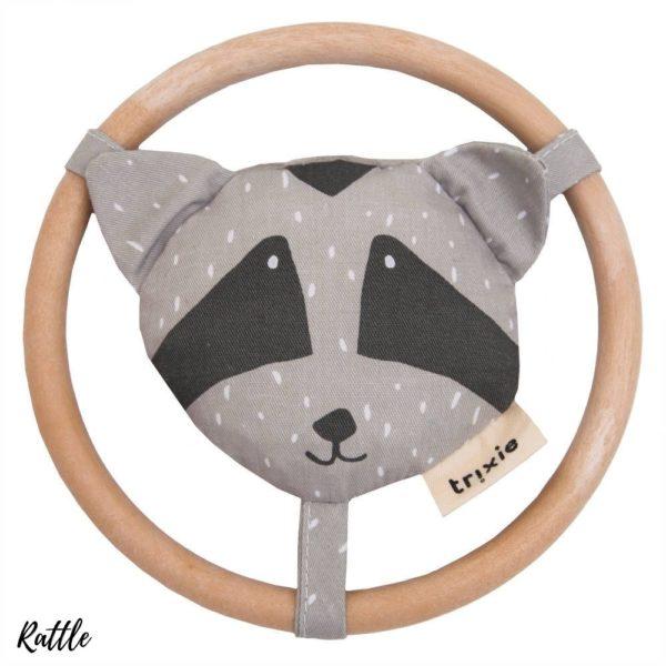 Rammelaar, Mr. Raccoon van Trixie Baby - My Little Carpet