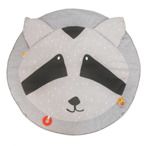 Activiteiten Speelmat Met Babygym, Mr. Raccoon van Trixie Baby - My Little Carpet