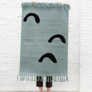 Vloerkleed Knitted Rug, Mountains van Trixie Baby – My Little Carpet